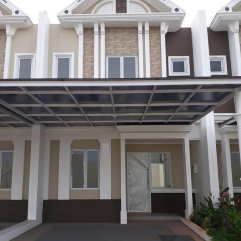 Rumah 6x15 (90m) Type 3KT Cluster Thames JGC Jakarta Timur