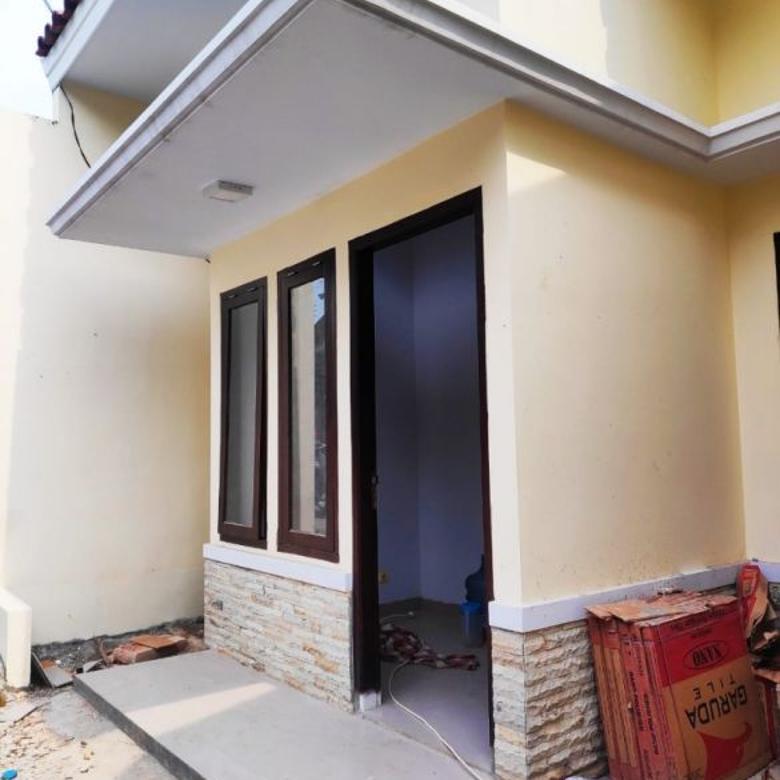 Rumah Baru 1,5 lantai Di KEBAGUSAN STRATEGIS Siap Huni Murah