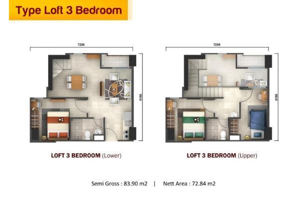 Rp353jt Apartemen Dijual