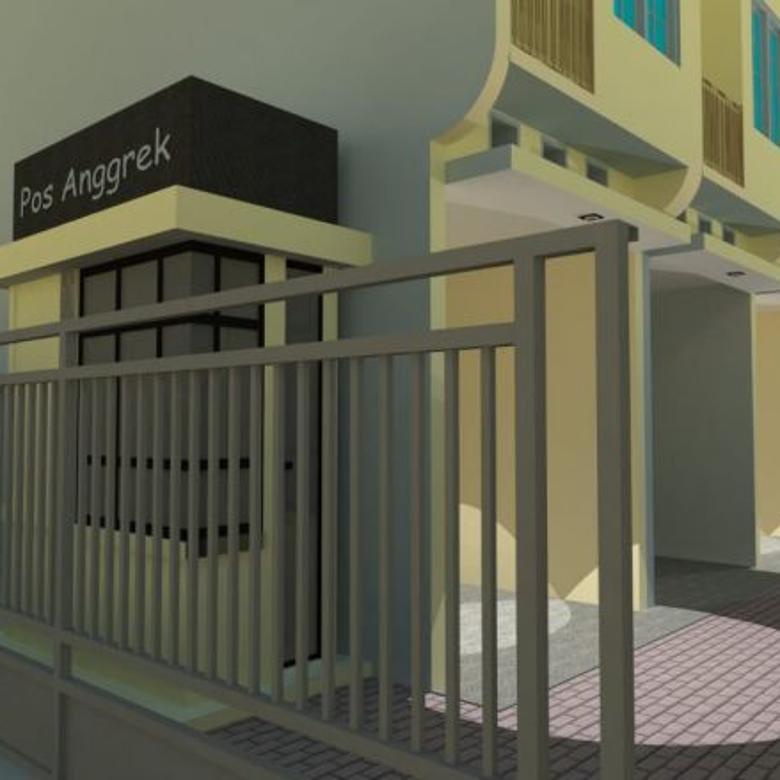Town house exclusive harga ekonomis di senen jakarta pusat