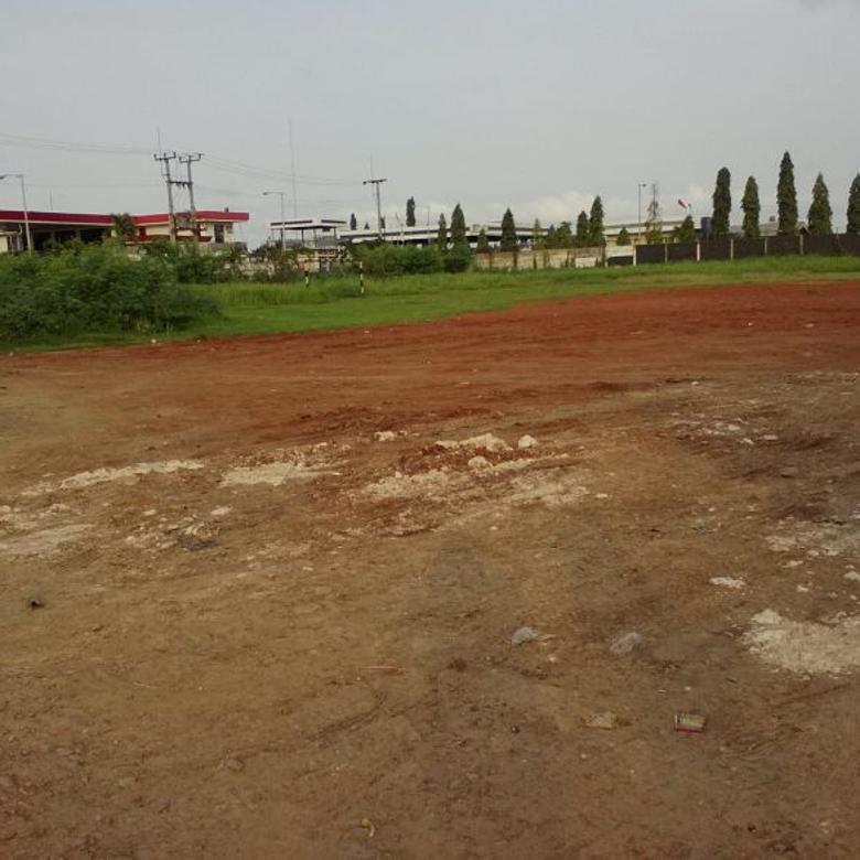 Tanah Strategis Bangun Ruang Usaha Pinggir Jalan Raya Karawang