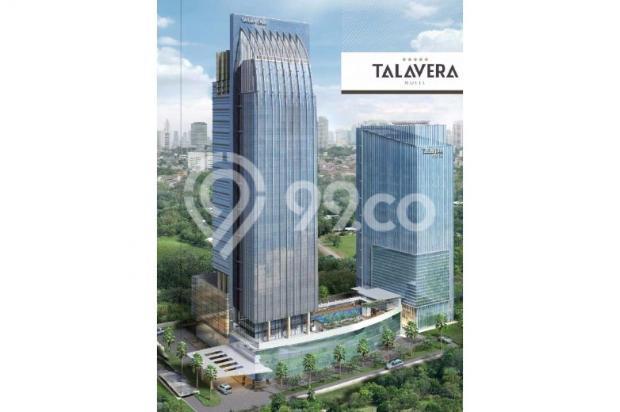Disewakan ruang kantor, luas mulai 150 s/d 800 Sqm, di Gdg TALAVERA TOWER 6373622