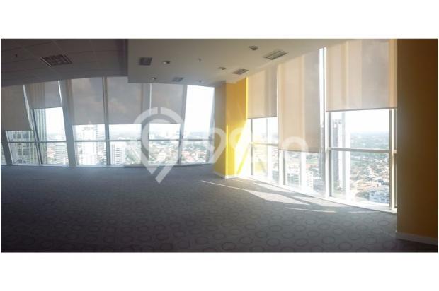 Disewakan ruang kantor, luas mulai 150 s/d 800 Sqm, di Gdg TALAVERA TOWER 6373634