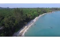dijual tanah pinggir pantai, Belitung Selatan