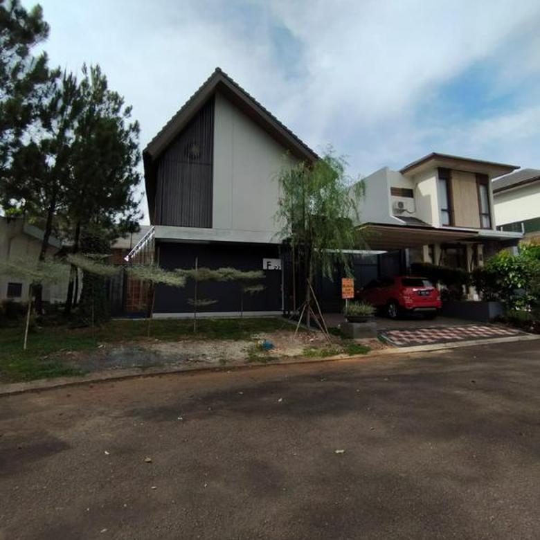 Rumah baru design arsitek di kawasan exclusive Avani BSD