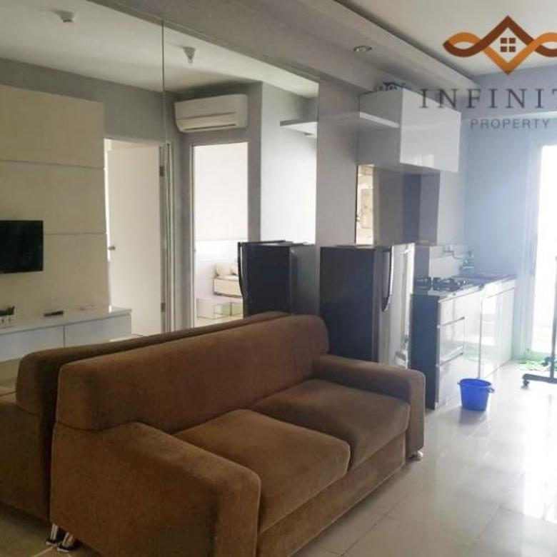 2BR Fullfurnish 42m2 GreenBay Tower G View Pool