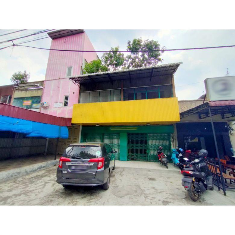 Ruko Gandeng Jalan HM Yamin (dekat Jalan Bandar Baru) Medan