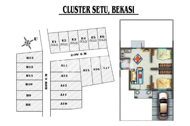 Rumah Cluster Setu Bekasi Murah Karena DISKON 100 Jt 13873755