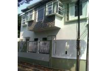 Rumah Hoek baru minimalis 2 lt Melati Mas