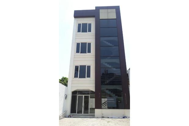 dijual ruang kantor bangunan baru 4 lantaiasi di surabaya