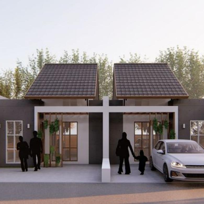 Rumah Mewah Desain Jepang Daerah Udara Sejuk Bandung Timur