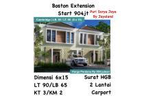 Rumah Boston Extension puri surya jaya gedangan surabaya