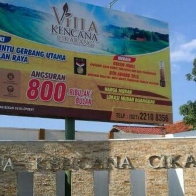 villa kencana cikarang Ekonomis Perum