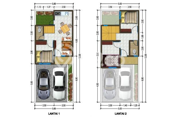 Rumah 2 Lantai Ter Murah di Graha Raya Bintaro 16419441