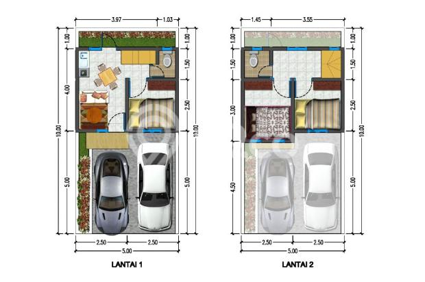 Rumah 2 Lantai Ter Murah di Graha Raya Bintaro 16419450