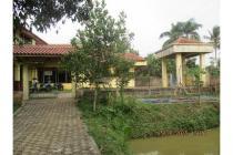 Dijual Rumah dan 25 Kolam Ikan Murah di Pabuaran Kemang Bogor
