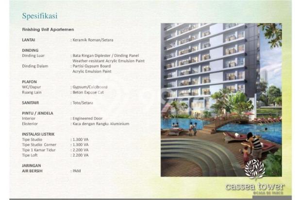 Apartemen Casa de Parco di kawasan komersil BSD City 12533408