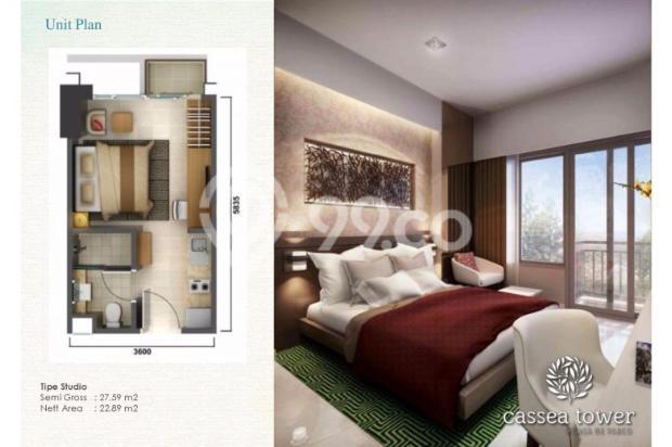 Apartemen Casa de Parco di kawasan komersil BSD City 12533430