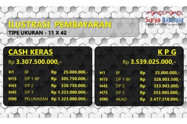 Rp3,05mily Gudang Dijual