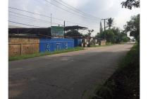 Tanah pinggir jalan raya Cisauk untuk disewakan
