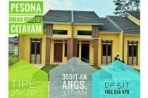 Rumah kpr murah dekat stasiun citayam