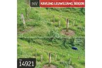Kavling Leuwiliang, Bogor, 243.000 m², SHM