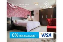 Aston Rasuna Apartment 2BR Fully furnished (bisa cicilan 12x)