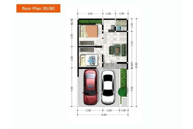Rumah murah karangploso 13698145