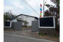 Dijual Gudang STRATEGIS (5Gudang) ex Pabrik Kayu Mojokerto MASIH Terawat