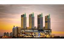condominium greenbay 2 kamar only 1m nego ! hadap laut jual BU murah