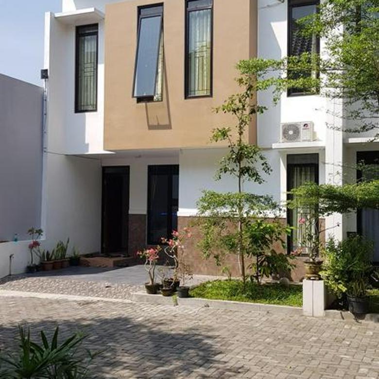 Rumah fully furnished di Jl Bibis Raya, dalam cluster, dekat kampus UMY dan Ring road selatan