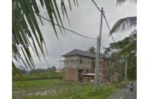 Tanah Siap Bangun Murah Kawasan Villa Central Ubud Bali