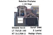 Dijual Rumah Babatan Pratama, mewah, bisa NEGO, MURAH