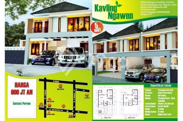 Rumah Kavling Baru Nyaman Strategis di Jalan Kabupaten Dekat Kampus UTY dan 6484749