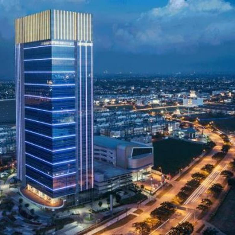 office space alam sutera, the prominence office tower