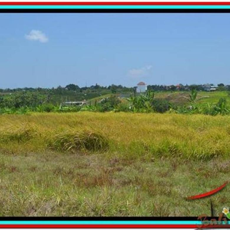 Cantik Alami 1.000 m2 Tanah  View sawah dan laut di Canggu TJCG168