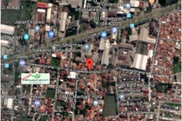 Dijual Tanah kosong siap bangun jln. Cijawura Girang Bandung hks6299 17971750