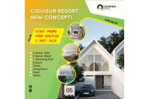 Rumah 2 Lantai konsep Kekinian terkeren di Parongpong