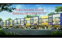 ruko arcade grand Batavia cadas kukun Tangerang 2 lantai