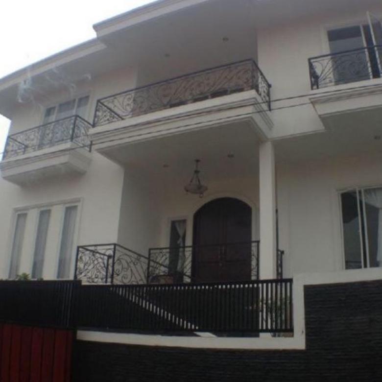 Jual Rumah Komplek DPR Kemanggisan Batu Sari Raya 5 Kamar LT/LB 330/450m2