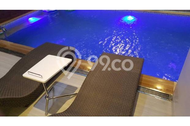 Rumah Mewah Gayungari Surabaya ada kolam renang & Furniture 2.8 M 15689911