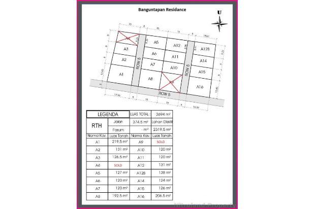 Rp353jt Tanah Dijual