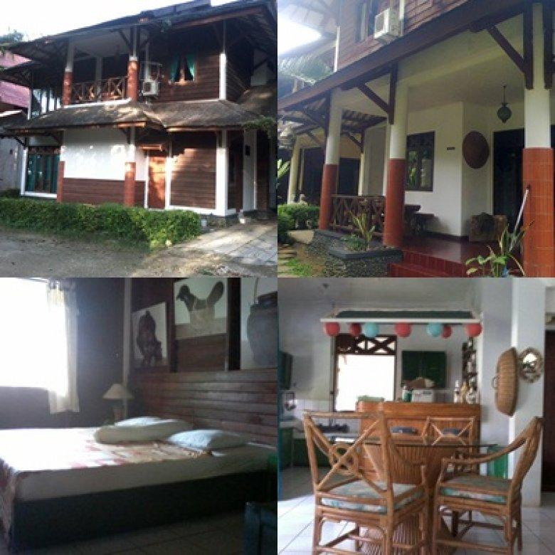 cottages pantai carita
