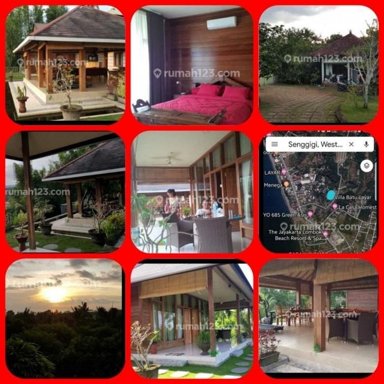 villa 3 kamar di senggigi hub telp/ WA : 0811-393-600