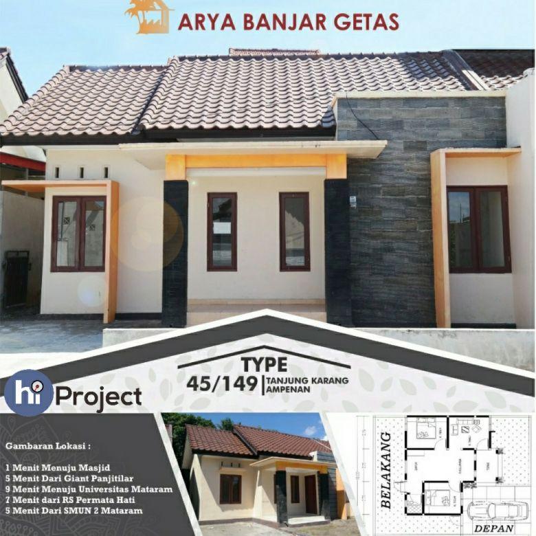 Perumahan Arya Banjar Getas Residence Sekarbela Mataram R118