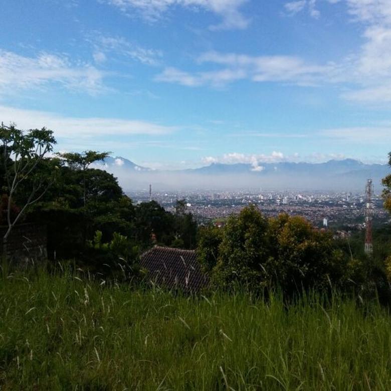 Tanah siap bangun plus IMB dan View kota Bandung