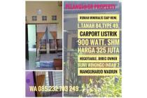 Rumah minimalis Bumi Winongo Indah2 Manguharjo Madiun