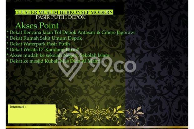 Rumah Khusus MUslim, Cicil Developer (rm00185) 12396807