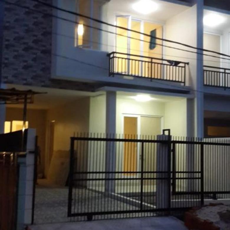 Rumah baru dibangun cluster terdepan di harapan indah dijual