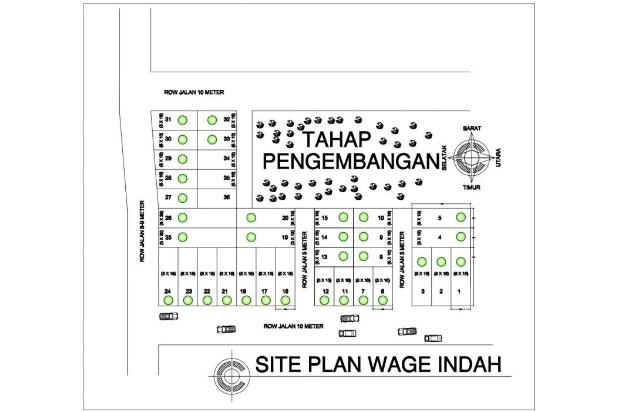 PROMO Rumah Wage 289 jt dekat Bandara Juanda 14994539